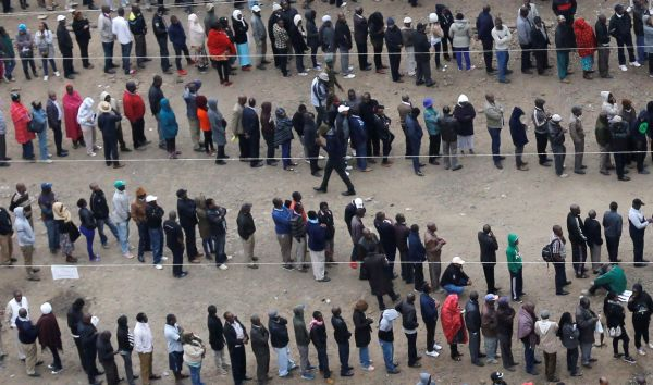 Long queues & low turnout expected during polls