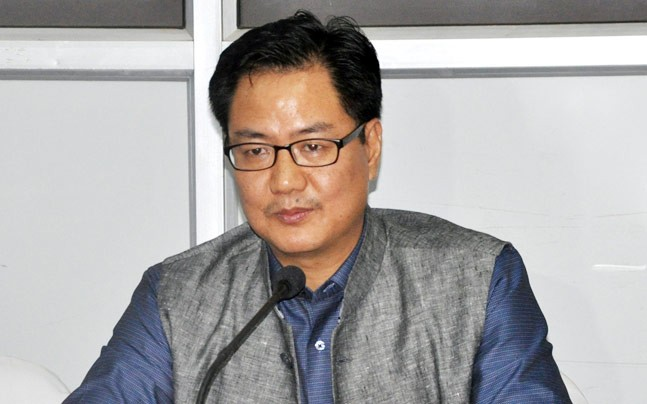 "Ahead of NE counting, Kiren Rijiju  sees ""new political landscape"""