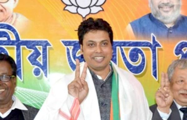 Biplab Deb to be sworn-in as  new Tripura CM on Mar 9