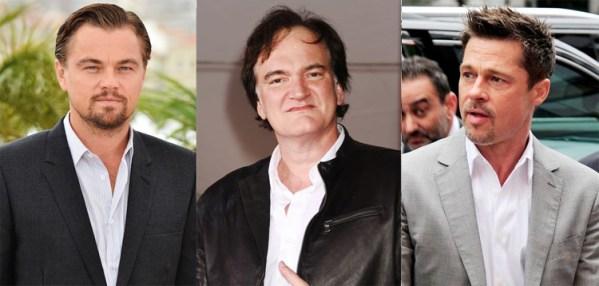 Pitt, DiCaprio will play struggling actors in Tarantino's new film