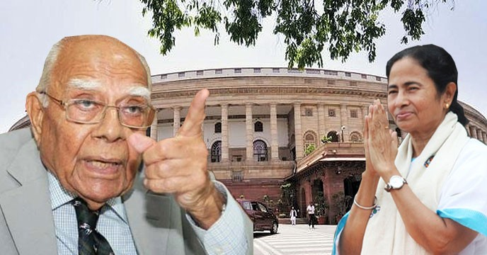 Jethmalani calls for Mamata-led third front to 'oust' Modi