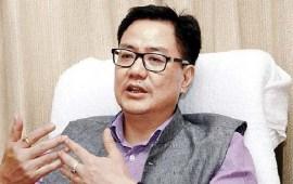 AFSPA will continue in Nagaland: Rijiju