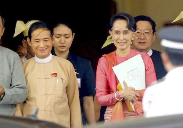 Myanmar House elects Suu Kyi loyalist as new President