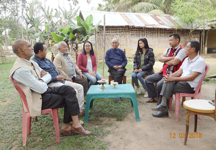 Peace coordination meet held at Nakachari