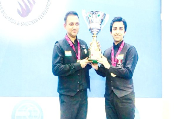 India beat Pakistan to win Snooker Team World Cup