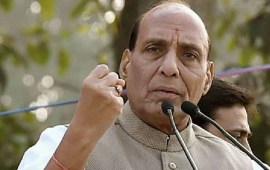 Forget Kashmir, fight terrorism or you will disintegrate: Rajnath warns Pakistan
