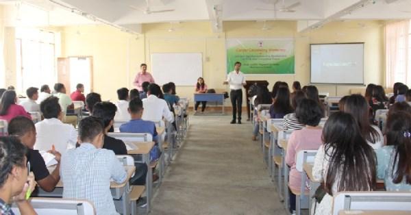 Career Counselling workshop held at NU: SASRD