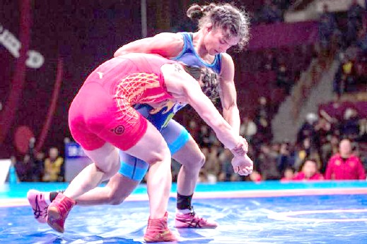 Vinesh Phogat finishes with silver in Asian Wrestling Championship