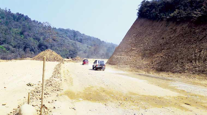 APO concerned by quality of  4-lane road construction