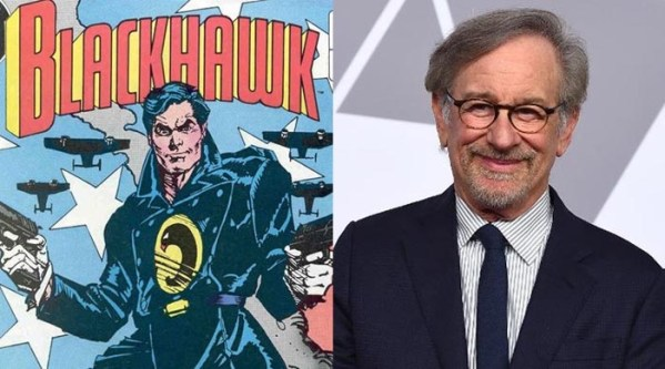 Blackhawk all set to be Steven  Spielberg's first superhero directorial