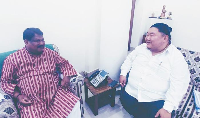Temjen Imna made State BJP chief