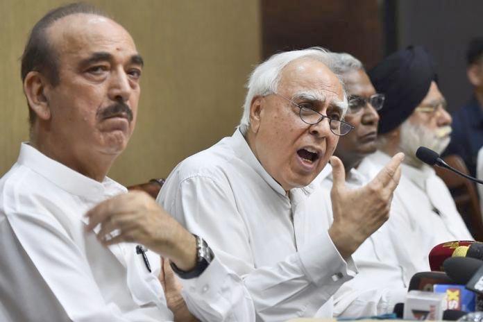 Naidu order on CJI plea unprecedented, illegal; Cong to move court: Sibal