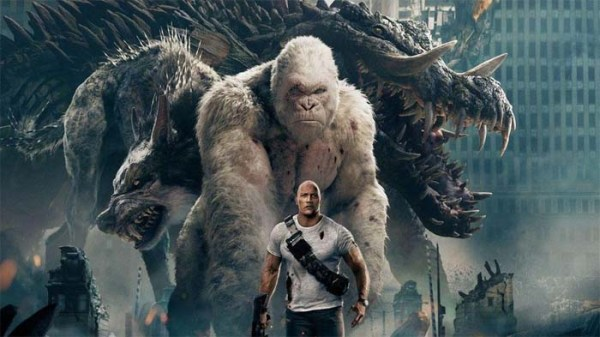 Rampage is now Rotten Tomatoes' top rated video game film