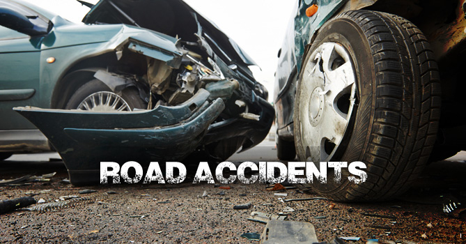 122 deaths, over 900 injured in road accidents in 2 yrs