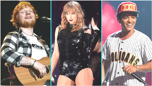 Billboard Music Awards 2018 winners: Taylor Swift, Ed Sheeran, Janet Jackson and others
