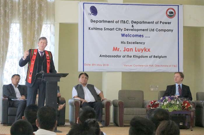Belgium-Nagaland eye collaboration in IT, power sector