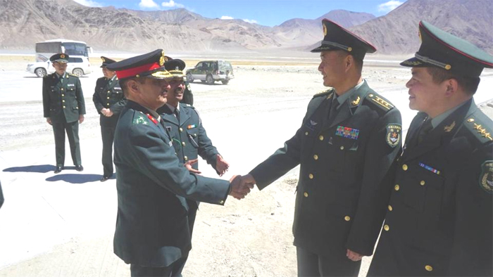 India, China resolve to  maintain peace along LAC