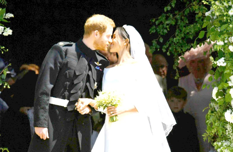 Meghan Markle weds Prince Harry in a  mesmerizing royal wedding ceremony
