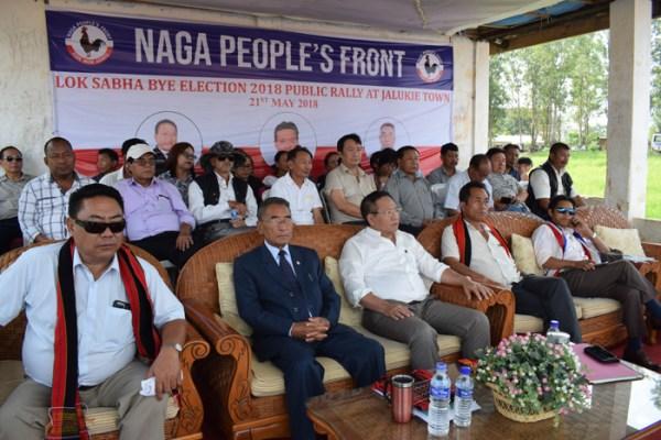 NPF's top priority remains Naga solution: Shurho – Nagaland Page