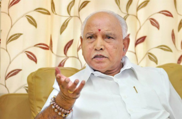 Yeddyurappa to take oath as Karnataka CM today