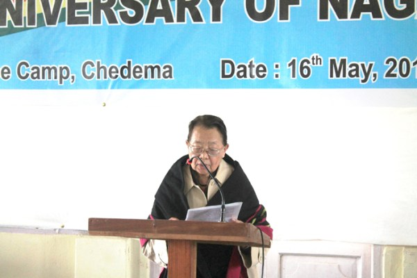 """Terming Naga issue as """"political problem""""  is wrong: Adinno Phizo"""