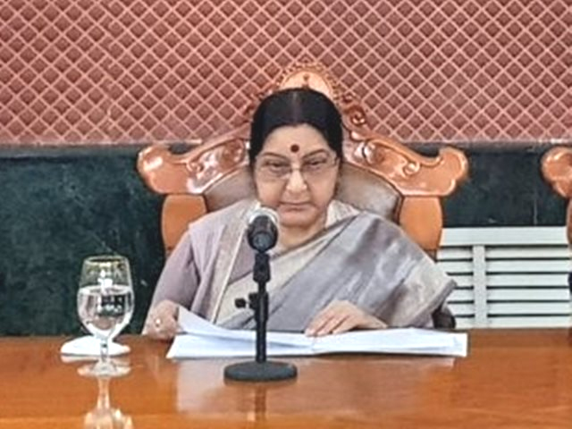 Sushma Swaraj cremated with state honours