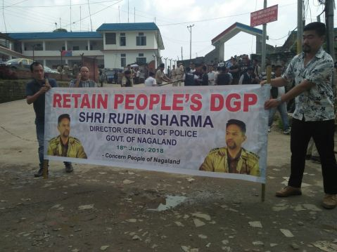 Anti-graft activists demand retention  of State top cop Rupin Sharma