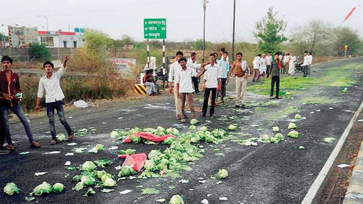 Farmers press for relief, cut of supplies of vegetables, milk to cities