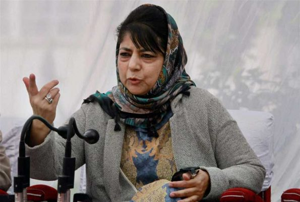 Don't fiddle with 35 A, 'warns' Mehbooba Mufti