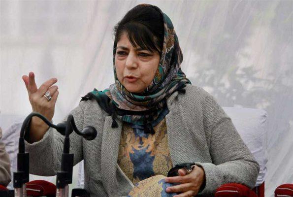 Mehbooba urges Centre, terrorists for Ramzan ceasefire