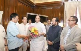 CM meets Union Home Minister