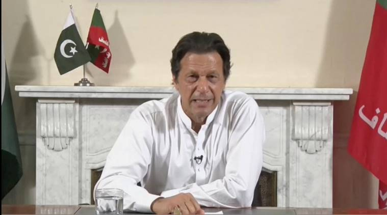 If India takes 1 step, Pak will take 2: Imran Khan on ties