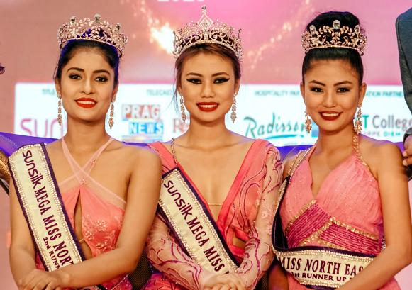 Mariam Longri is 16th Sunsilk Mega Miss North East 2018
