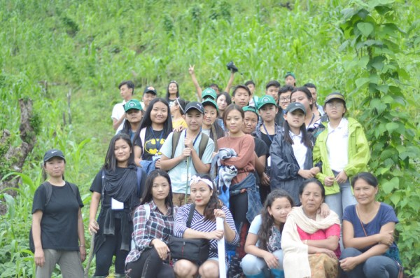 Connecting urban-based students to local food and farming systems in rural Chizami