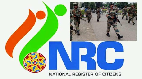 Ahead of NRC final draft, police in NE on alert