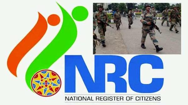 Ahead of NRC final draft, police in NE on alert