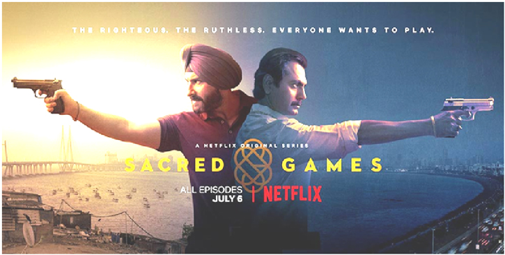 Netflix announces Sacred Games season 2