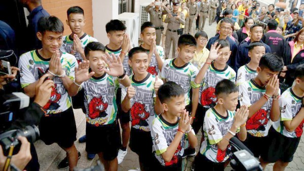 'Bringing the Wild Boars home': Thai cave boys survived on rainwater, tried to dig way out