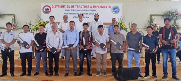 Rio calls upon Nagas to be self-sufficient
