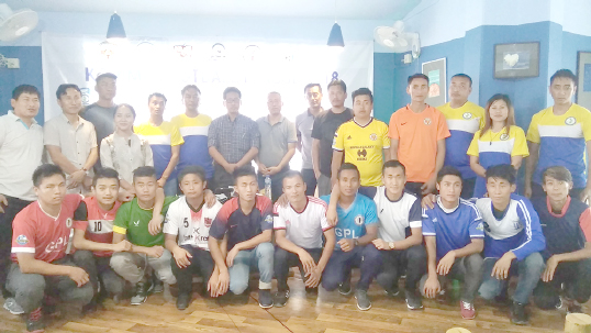 Clubs jersey for Kohima Football League 2018 launched
