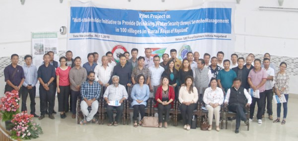Project for drinking water  security launched in State