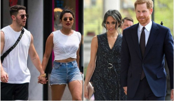 Priyanka introduces Nick to royal couple