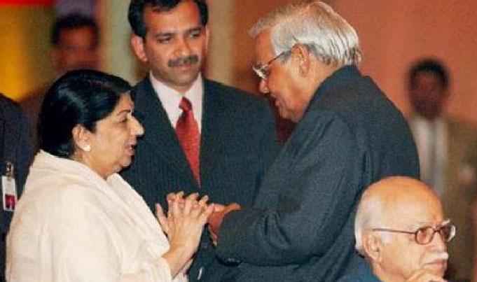 Lata Mangeshkar dedicates unreleased song to Vajpayee