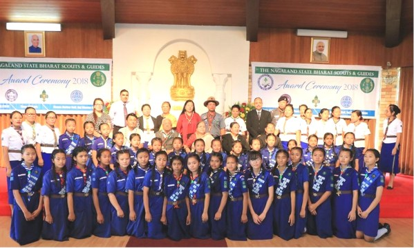 Rajya Puraskar awarded to scouts & guides