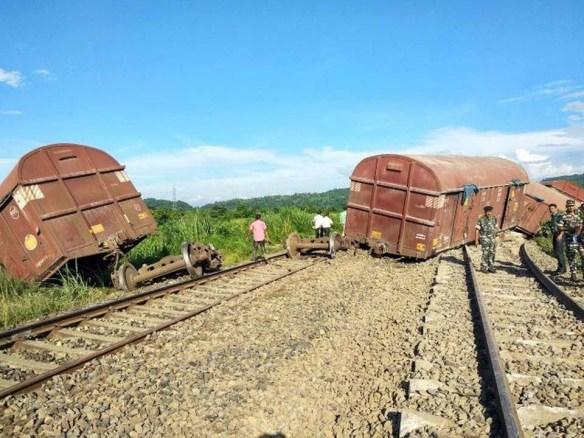 Trains services between Dimapur & Guwahati disrupted