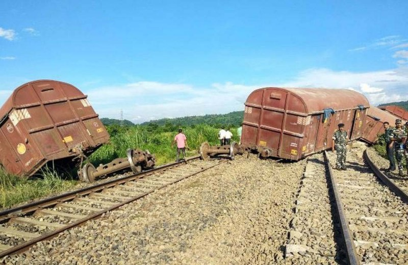 Trains services between Dimapur & Guwahati disrupted