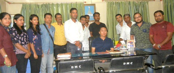 Dimapur Bongs signs MoU with DMC to maintain Kalibari Road stretch