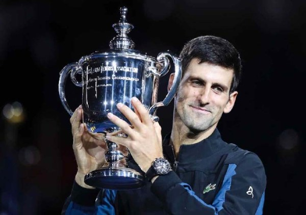 Novak Djokovic wins third US Open beating del Porto, equals Sampras on 14 Grand Slams