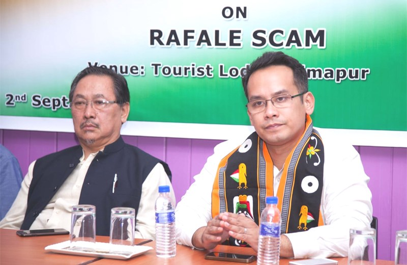Gogoi attacks Centre on Rafale 'scam'