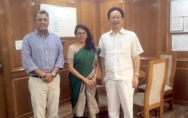 Kenye pursues waterway  projects in Nagaland